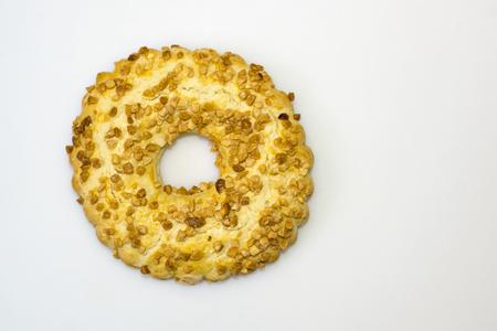 shortcake: Shortcake ring with nuts