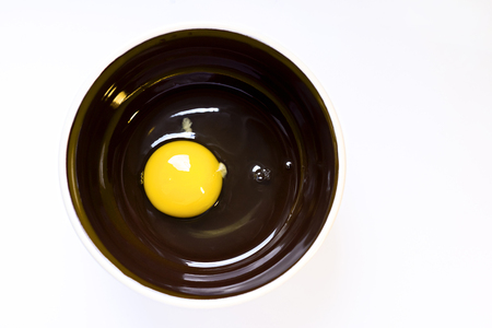raw egg: Raw chicken egg