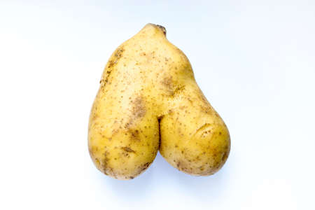Unusual shape of natural potato