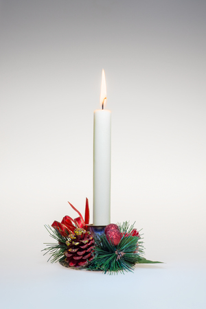 Decorated candlestick