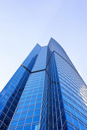 Skyscraper in Moscow city