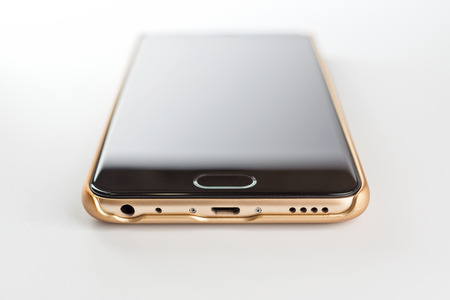 Modern powerful and technological smartphone