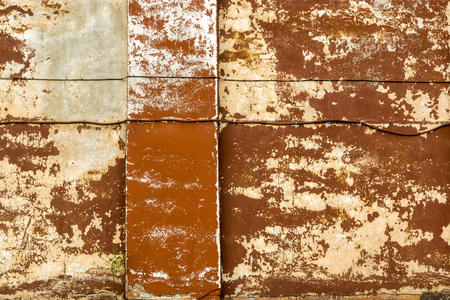 Antient vintage wall background with collapsed plaster
