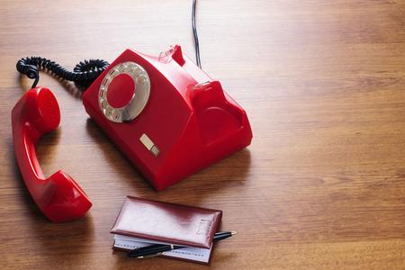 Vintage phone dial 写真素材