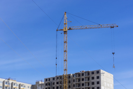 Construction of high-rise residential building panel