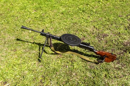 Real Degtyarev machine gun