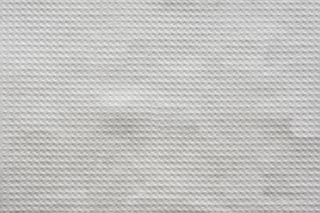 White napkin embossing textured background close