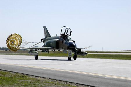 F4 Phantom jet at air show