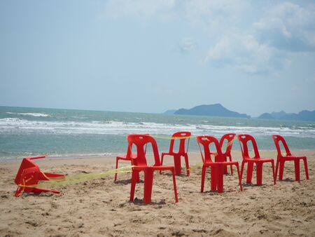 chairs: red chairs
