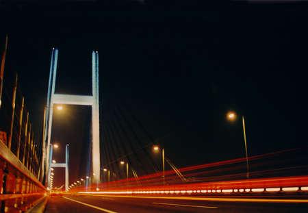 bridge at night Stock Photo - 453541