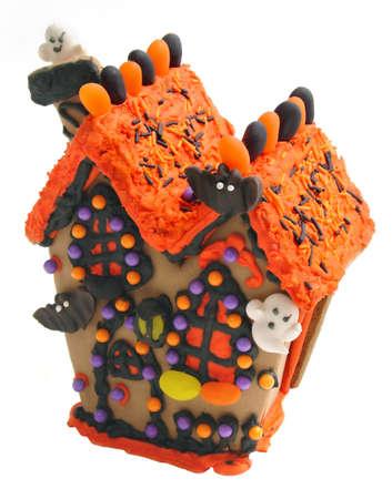casita de dulces: Halloween dulces Casa derecho