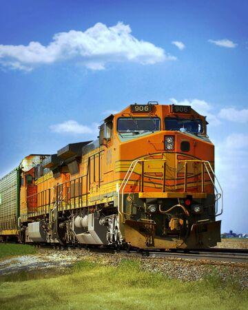 frieght train Zdjęcie Seryjne