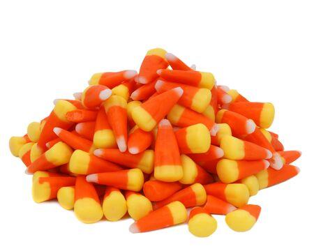 candy corn, pile Banco de Imagens