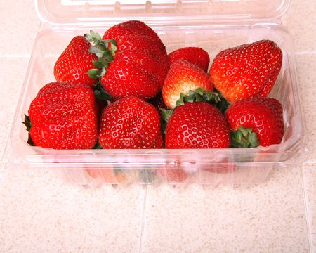 strawberry container