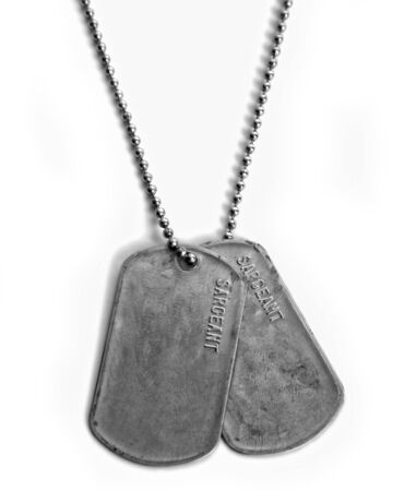 DOG TAGS Stock fotó