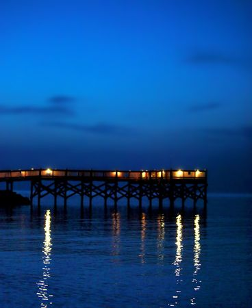 dark dock