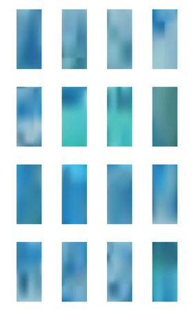 Set of light backgrounds. Minimal hi-res and fresh. Illustration, colorful. Sky blue color. Colorful new light. Vektoros illusztráció