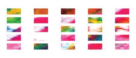 Wonderful set of background texture. Illustration, color. Funny hi-res and fresh. Ultrawide size. Colorful new texture. Vektoros illusztráció