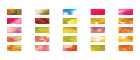 Super backgrounds assembled in a set. Illustration, color. Usefull hi-res and fresh. Ultrawide size. Colorful backgrounds set.