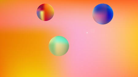 Colorful great cosmos background. Illustration, graphic. Minimal hi-res and fresh. Stars, planets, signs.