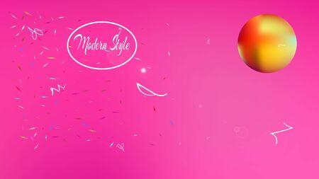 Pristine space fantasy. Usefull colorific illustration.  Background texture, graphic. Red colored background.  Pristine colorful new abstraction. Colorful new stars design.