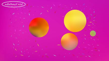 Breezy space fantasy. Background texture, chilly. Plain colorific illustration.  Magneta colored background.  Fresh colorful new abstraction. Colorful new stars texture. Illustration