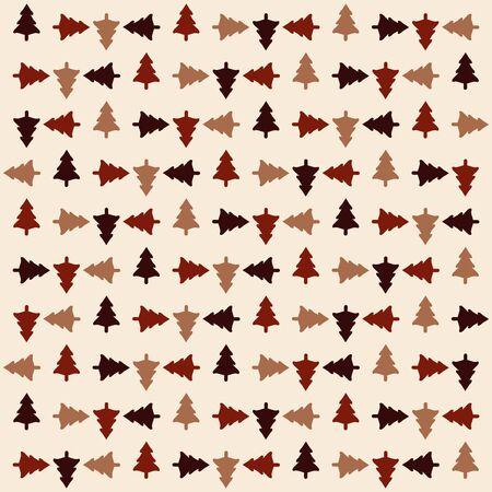 Rotation Christmas tree pattern