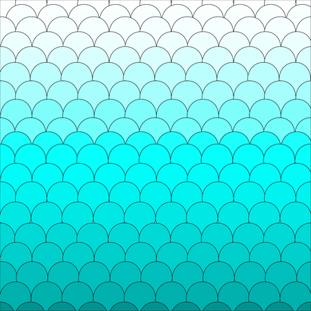 fish with scales: Fish scales background pattern cute blue