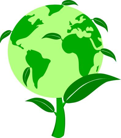 green world: Green plant world