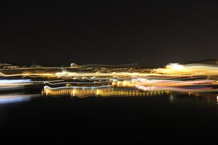 fused: Prague at Night, Blurred