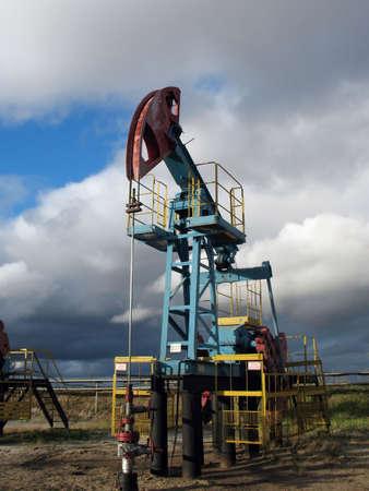 Oil pump in West Siberia Stock Photo - 2130245