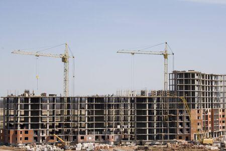 residental: Construction of the residental building