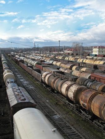 mass storage: Cargo on a big station.