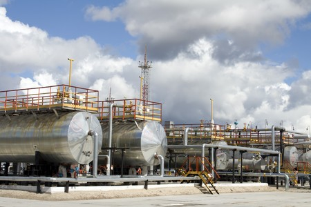 Oil refinery center in West Siberia Stock Photo - 4044884