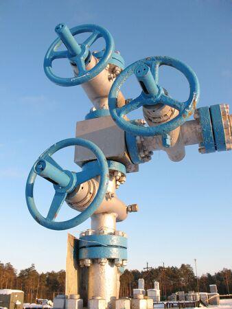 spiraglio: Estrazione di petrolio. Industria petrolifera. Costruzione e meccanismo nel lavoro.
