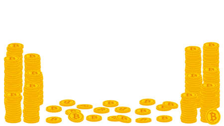 A large amount of bitcoins