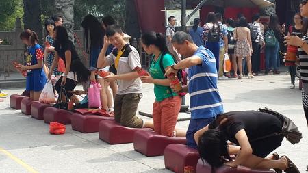divination: Divination: October 4, 2014 shooting in Hong Kong Wong Tai Sin Temple.