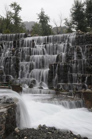 xinjiang: Cascade dans Tianshan, le Xinjiang