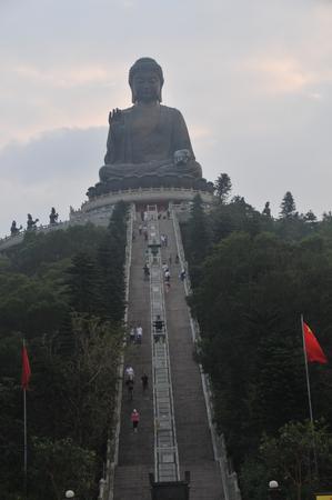 future buddha: Hong Kong Tian Tan Buddha Editorial