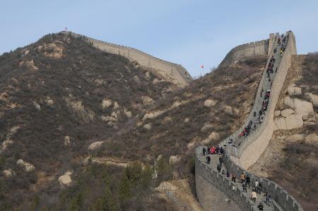 badaling: Badaling Great Wall of water clearance Editorial