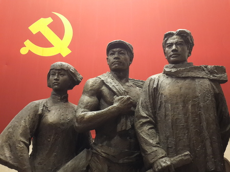 wang: Shanghai second Congress of the Communist Party of China site Editorial