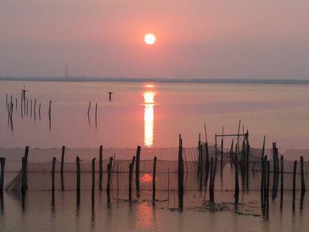 reflection water: Acqua riflessione tramonto bellezza Archivio Fotografico