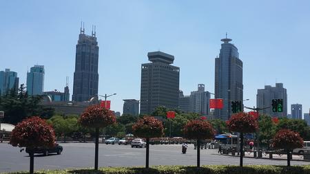 reproduce: Shanghai sky reproduce the Typhoon blue