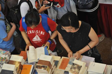 2015 Shanghai book fair: books in China