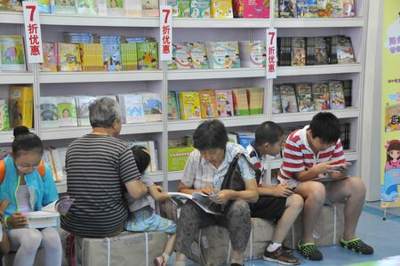 2015 Shanghai book fair  of books in China