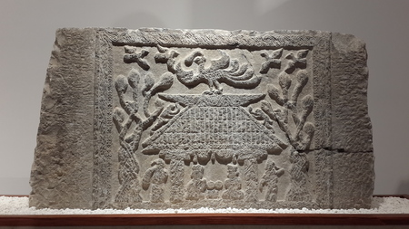 Han dynasty stone carving Editorial