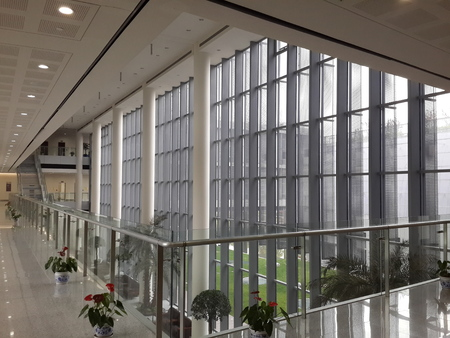 higher learning: The beautiful environment of the Shanghai Municipal party school