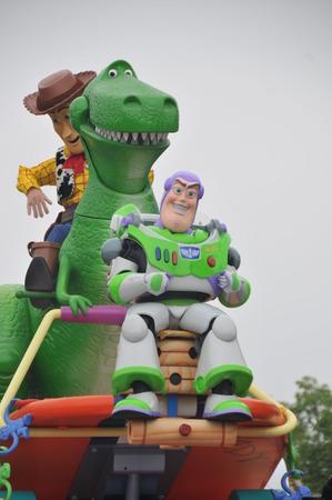 disney cartoon: Shanghai Disneyland Park