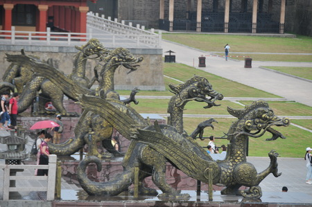 qin: Asian Film and television base: Hengdian film and Television City Qin Palace