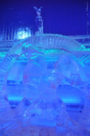 ice sculpture: Hengdian new ice sculpture